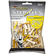 "Pride Sports 2.75"" Step Golf Tees – 50-Pack"