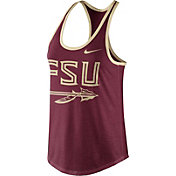Nike Women's Florida State Seminoles Garnet Dri-Blend Tank Top