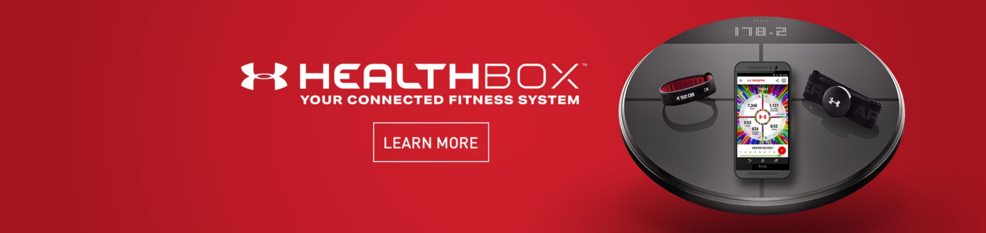 Under Armour Healthbox - Learn More