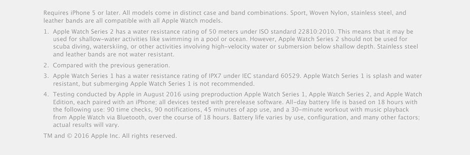 Apple Watch Requirements