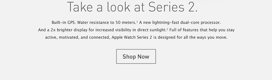 Shop Apple Watch Series Two
