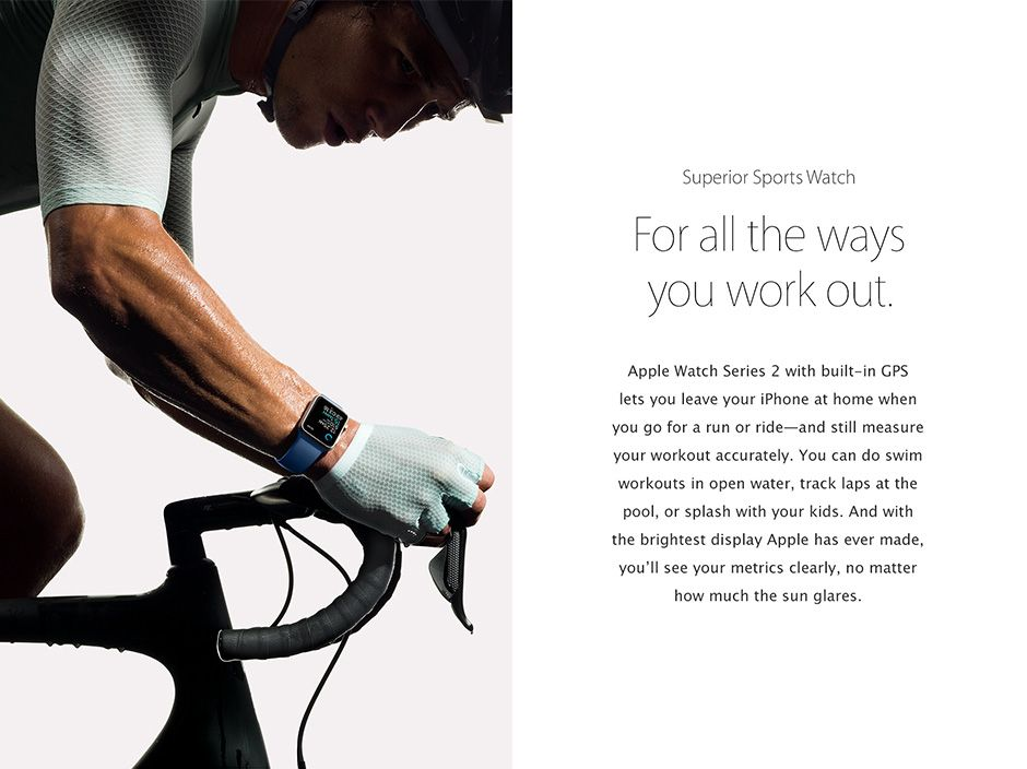Apple Watch Sports Watch
