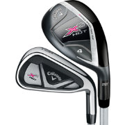 Callaway Women's X2 Hot Hybrid/Irons – (Graphite) 4-5H, 6-PW, SW