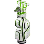 Tour Edge Women's Lady Edge 17-Piece Complete Set - (Graphite) - Lime