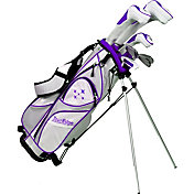 Tour Edge Women's Lady Edge 11-Piece Complete Set - (Graphite) - Plum