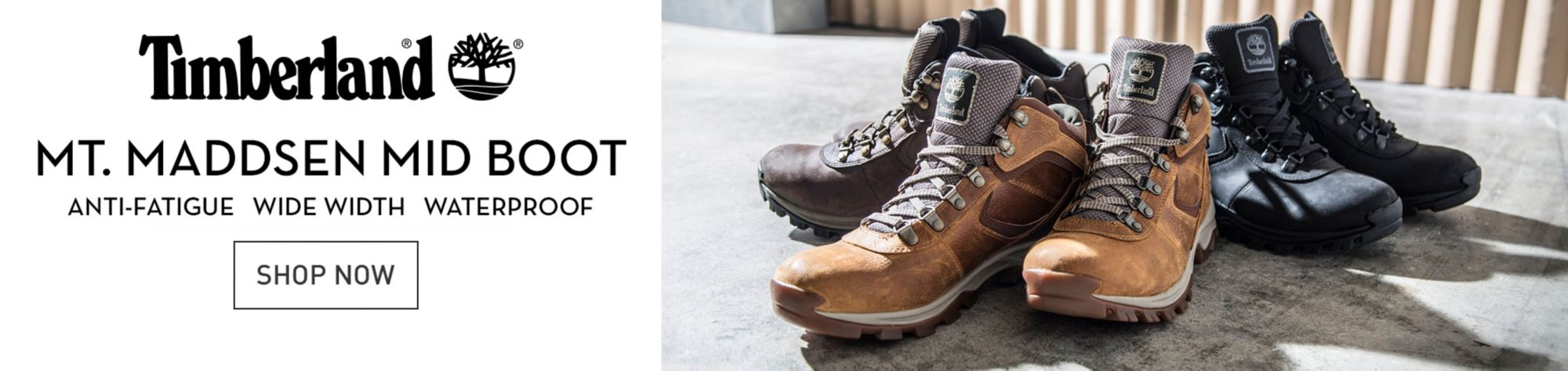 TIMBERLAND MT. MADDSEN MID BOOT