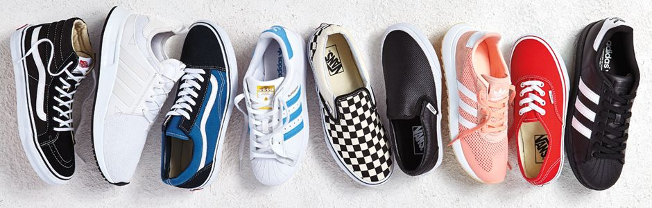 Shop adidas Originals And Vans