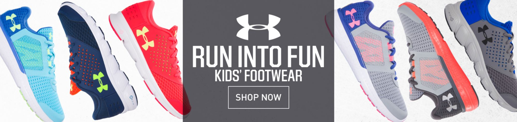 Shop Under Armour Youth Footwear