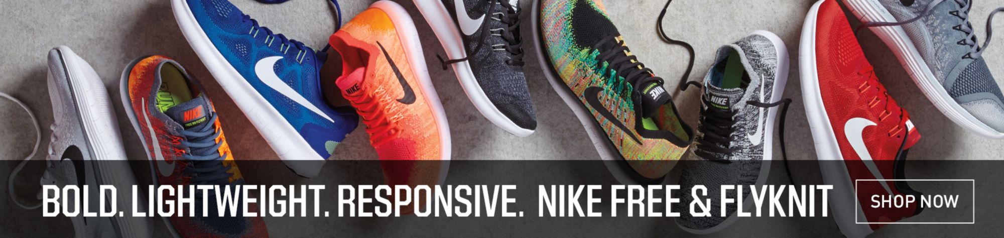 Shop Nike Free And Flyknit