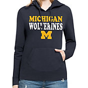 '47 Women's Michigan Wolverines Blue Headline Hoodie