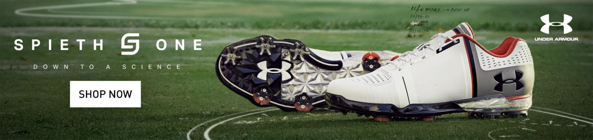 New for 2017 Under Armour Golf Shoes