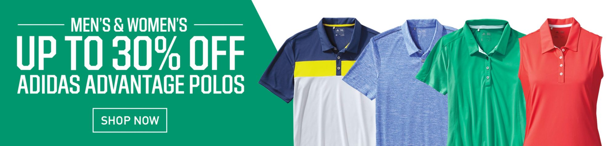 Shop adidas Golf Apparel