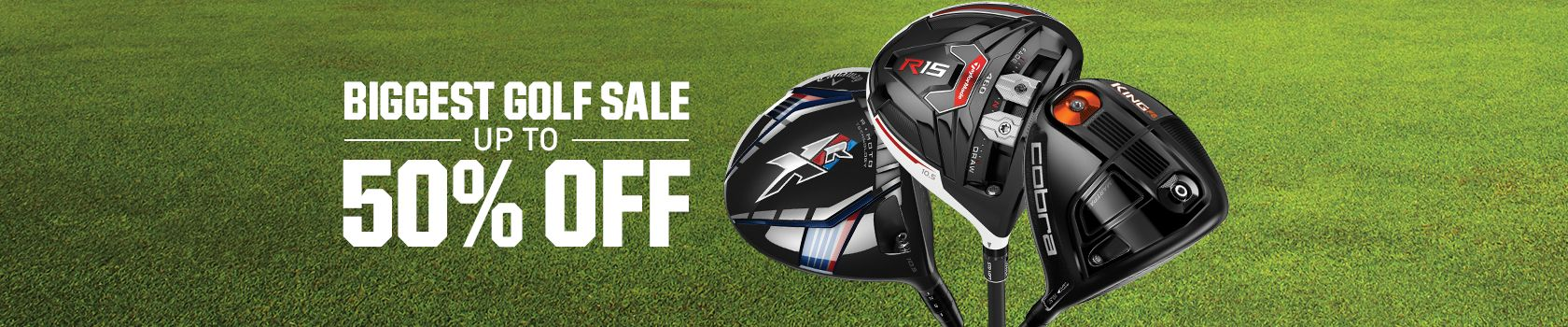 Biggest Golf Sale - Up To 50% off