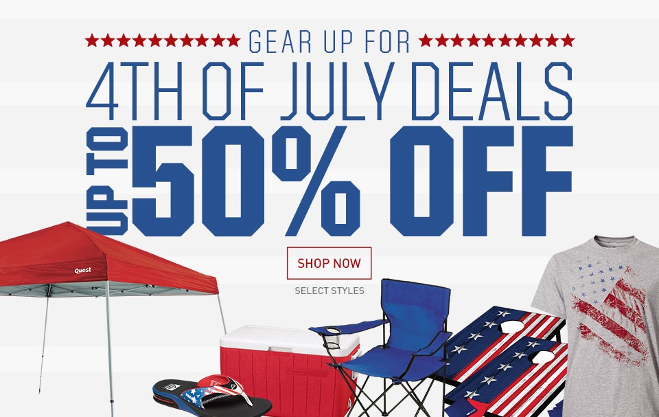 The Fourth of July holiday is a time for barbecues, trips to the beach, fireworks displays and shopping.