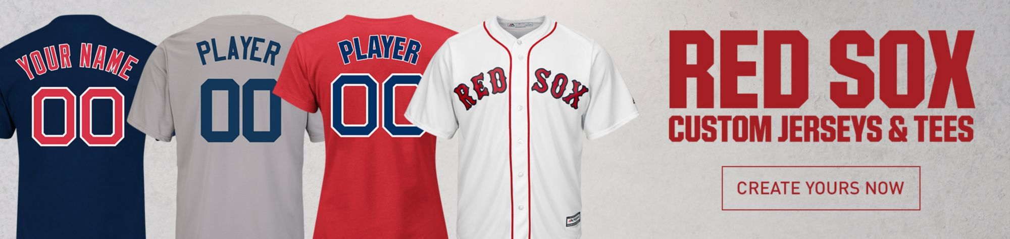 Branded apparel for an outdoor outfitter located in lubbock texas - Boston Red Sox Apparel Gear