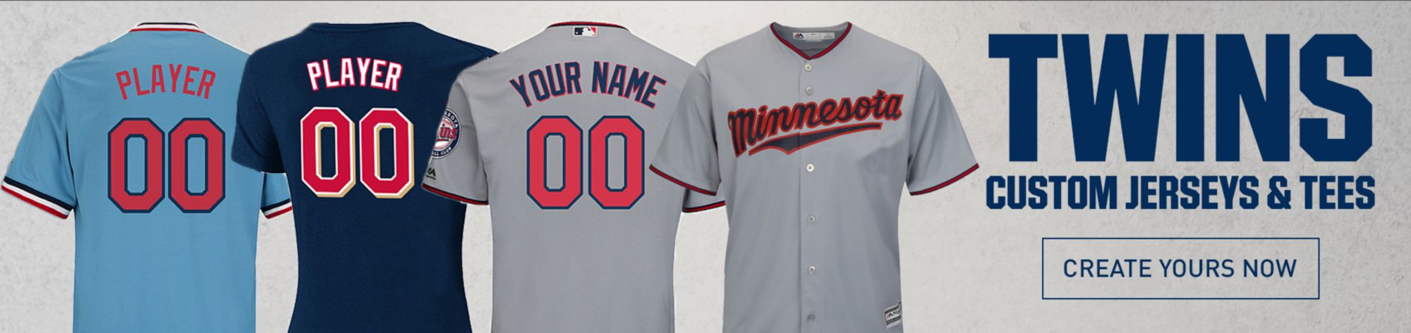 Minnesota Twins Custom Jerseys and Tees