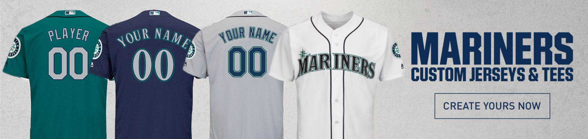 Seattle Mariners Custom Jerseys and Tees