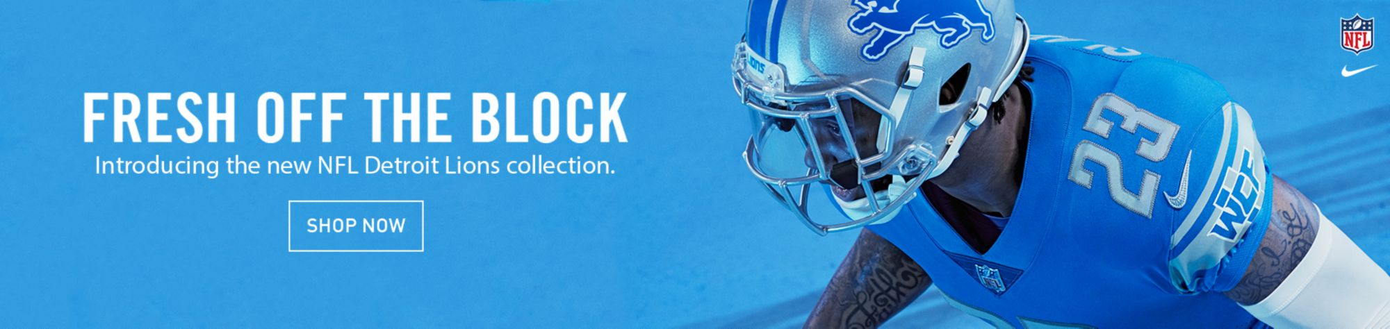 New Detroit Lions Nike Collection