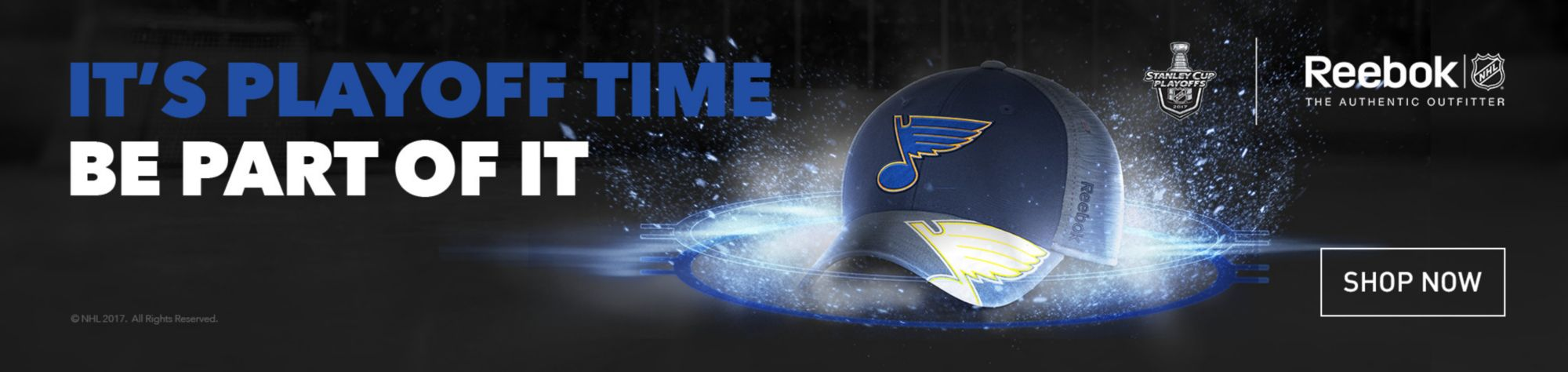 NHL Reebok Playoffs - St. Louis Blues