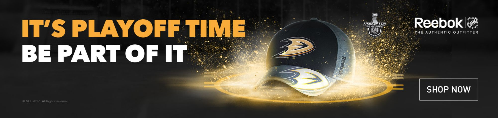 NHL Reebok Playoffs - Anaheim Ducks