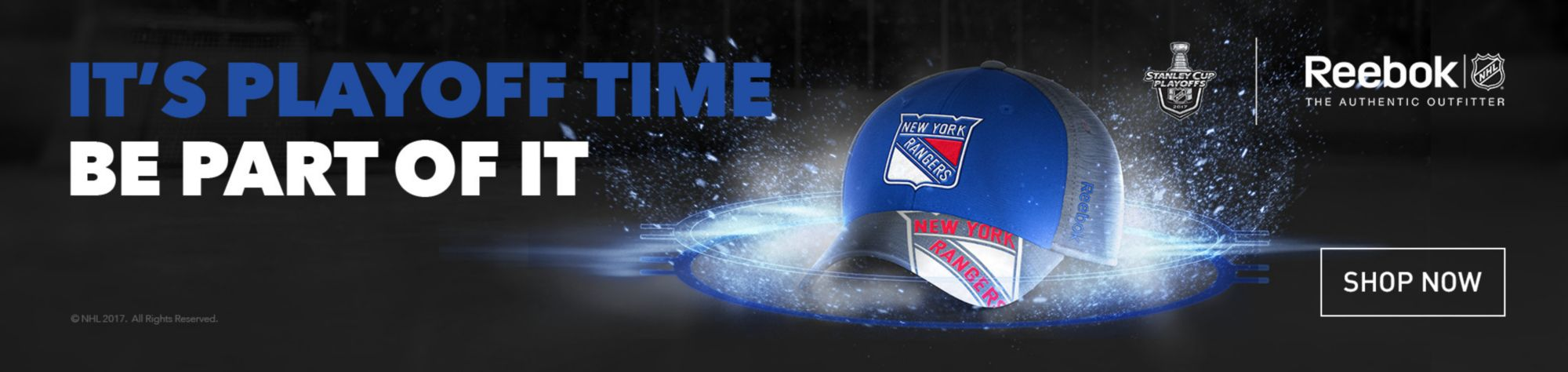 NHL Reebok Playoffs - New York Rangers