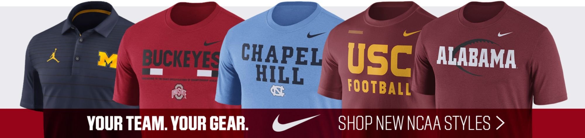 New NCAA Nike Gear