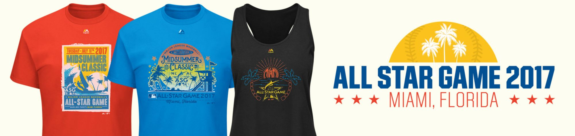 MLB All Star Apparel & Gear