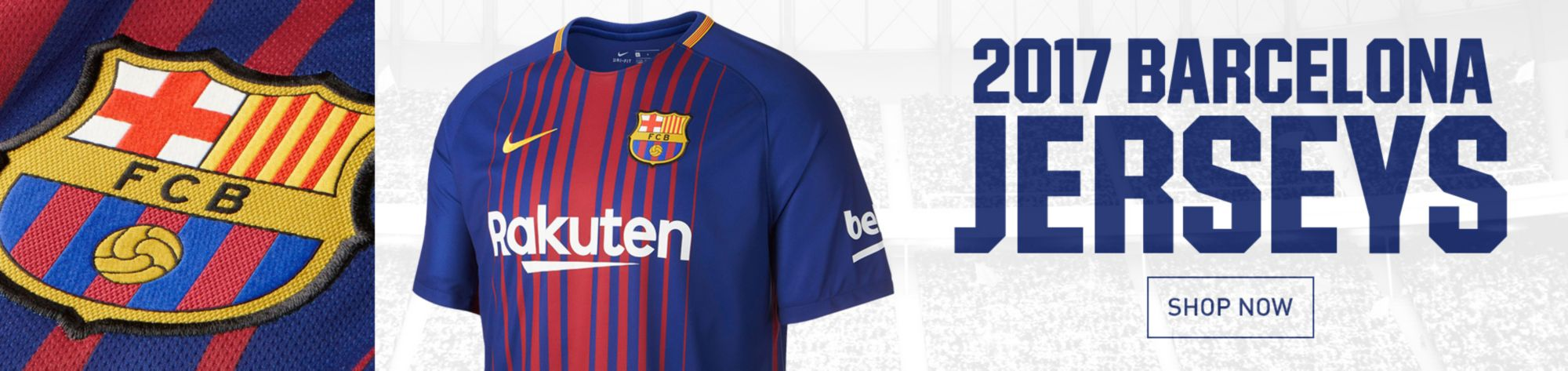 New Barcelona Jerseys
