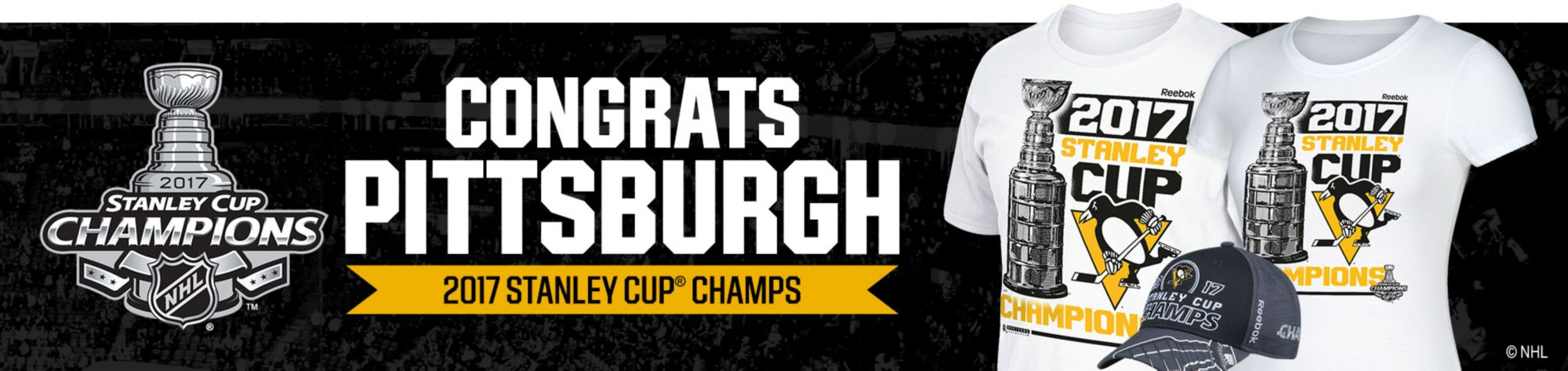 Congrats Pittsburgh Penguins!