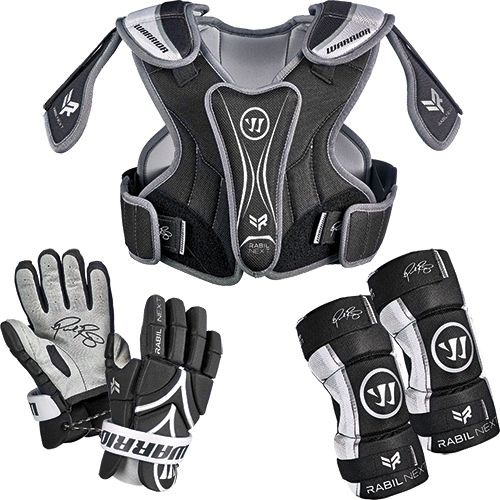 Warrior Youth Rabil 3-Piece Lacrosse Package