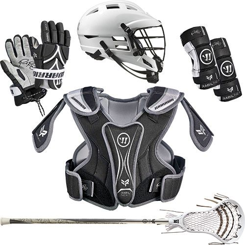 Warrior Youth Rabil 5-Piece Lacrosse Package
