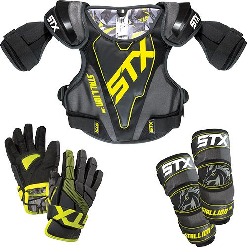 STX Youth Stallion 3-Piece Lacrosse Package
