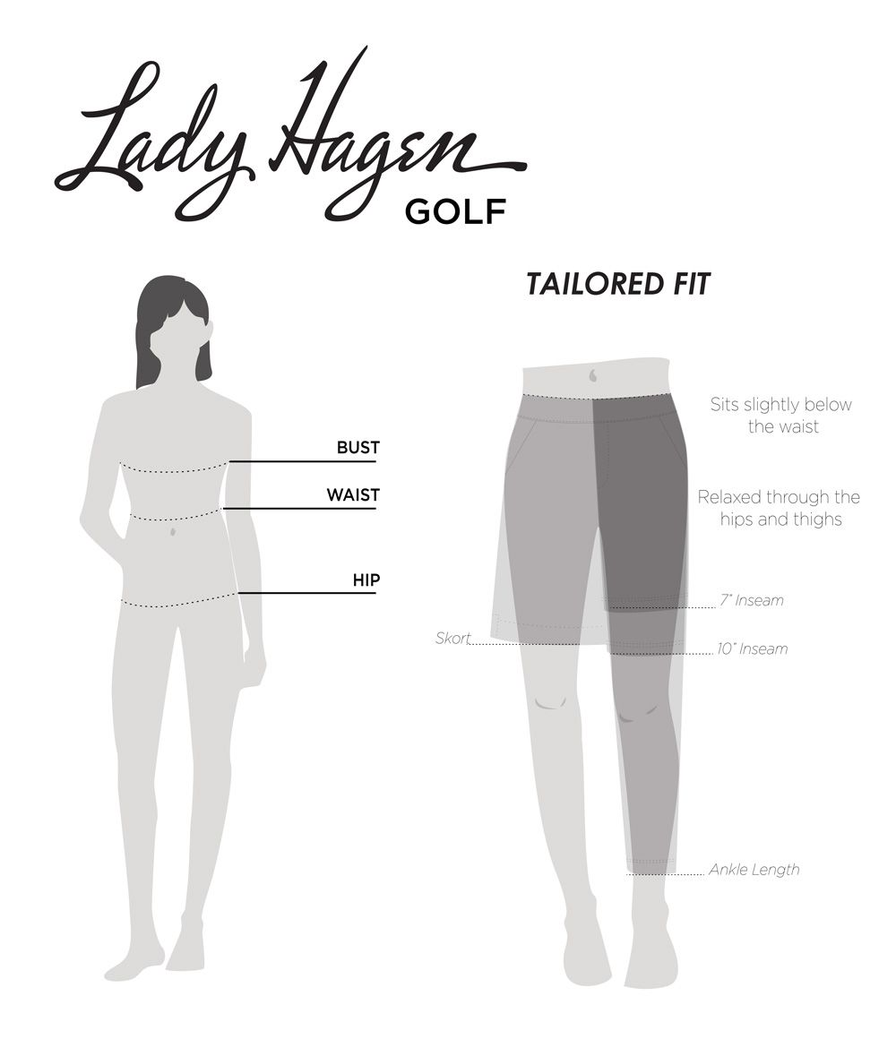 Lady Hagen Women's Fit Guide