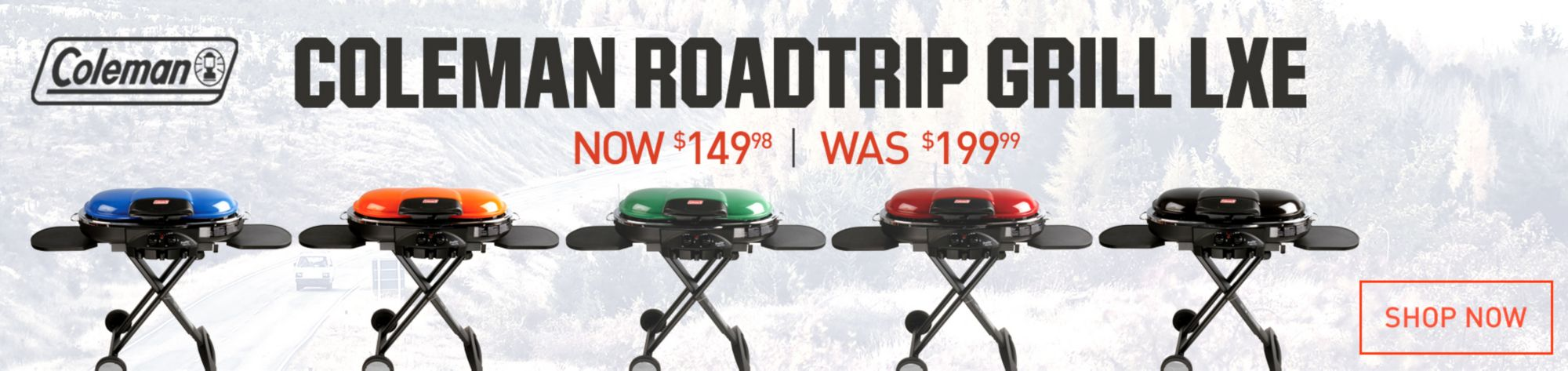 Shop Putdoor Roadtrip Grill