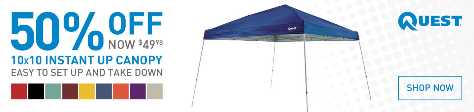 Shop Quest Canopies