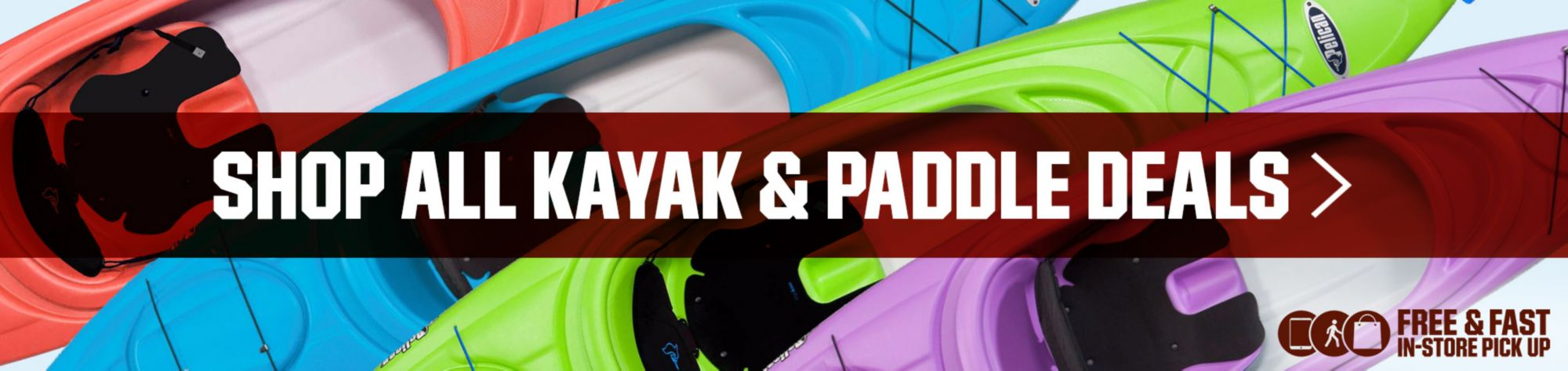 Kayak and Paddle Deals