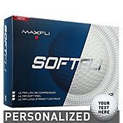 Maxfli SoftFli Personalized Golf Balls