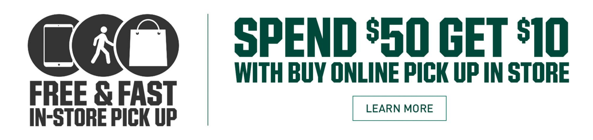 Learn More - Buy Online Pick Up In Store Cash Code