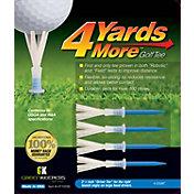 """GreenKeepers 3.25"""" 4 More Yards Golf Tees – 4-Pack"""
