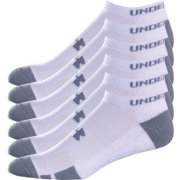Under Armour Resistor No Show Athletic Sock 6 Pack