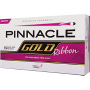 Pinnacle Gold Ribbon Golf Balls – 15-Pack