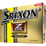 Srixon Z-STAR Tour Yellow Golf Balls – Prior Generation