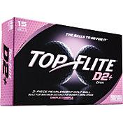 Top Flite D2+ Diva White Golf Balls – 15-Pack – Prior Generation