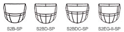 Riddell Revolution Speed Classic Youth Facemasks