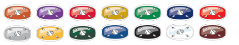 Riddell Chin Strap Colors