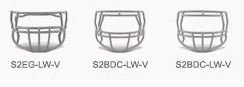 Riddell Victor Youth Facemasks