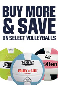 Buy More, Save More Volleyballs
