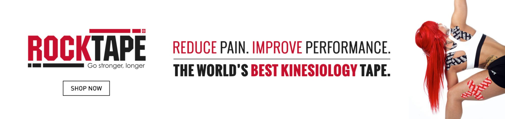 RockTape - Reduce Pain. Improve Performance. The Worlds's Best Kinesiology Tape. Shop Now