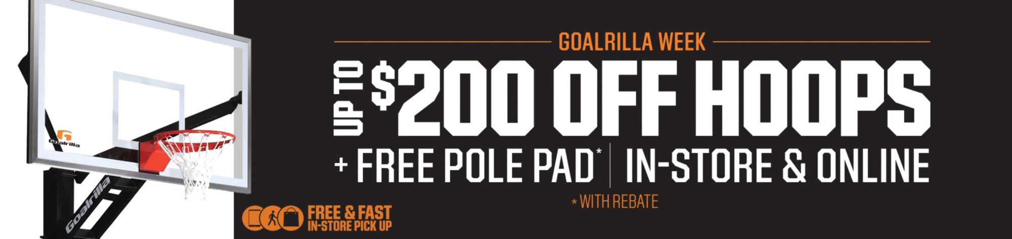Goalrilla Week: Up to $200 Off Select In-Ground Hoops