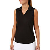 Lady Hagen Women's Essential Sleeveless Golf Polo
